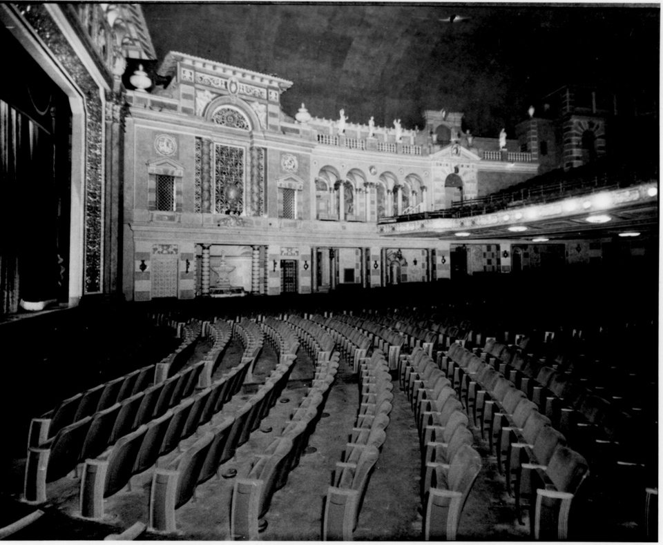 Photo - This circa 1930 photo provided by ACE Theatrical Group LLC shows the interior of the Saenger Theater in New Orleans. (AP Photo/ACE Theatrical Group LLC)