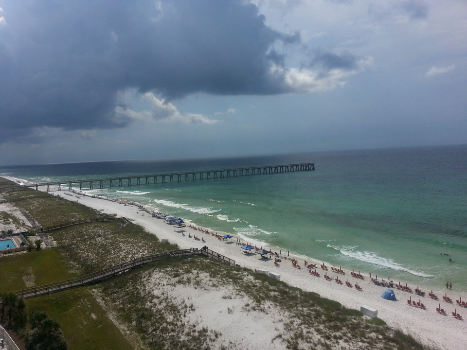 navarre beach fishing pier a hidden gem