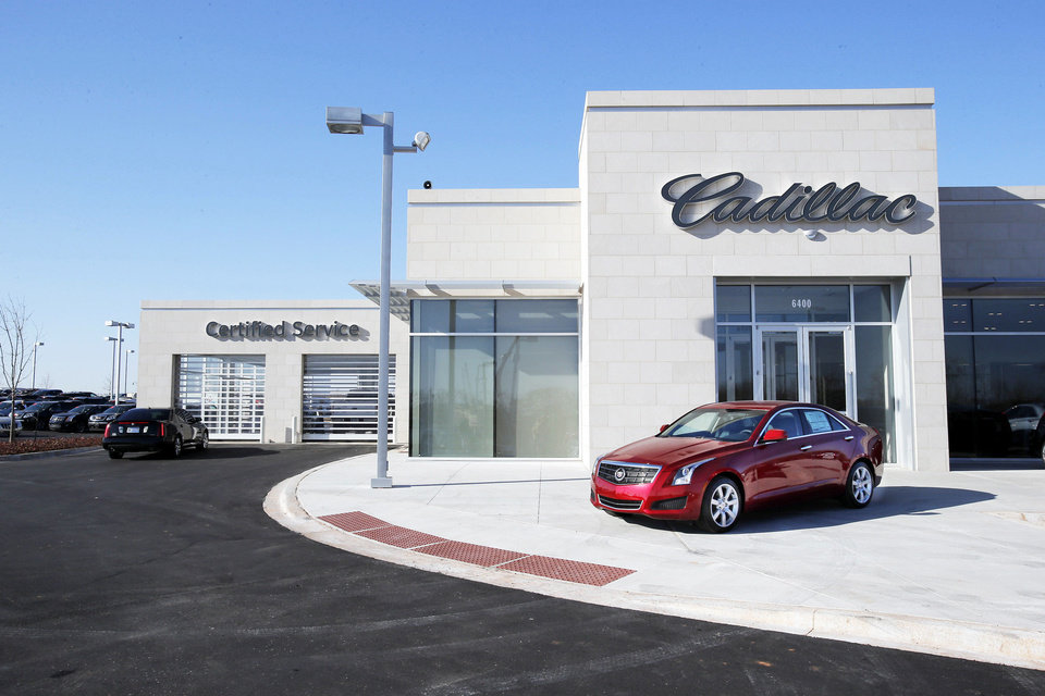 Bob Moore Cadillac of Norman is open in its new location at 6400 N Interstate Drive.