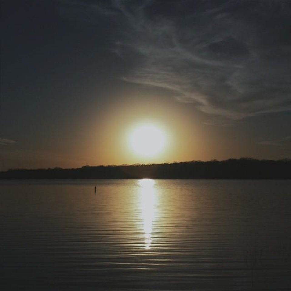 Lake Thunderbird - Photo by Instagrammer @curt_ice