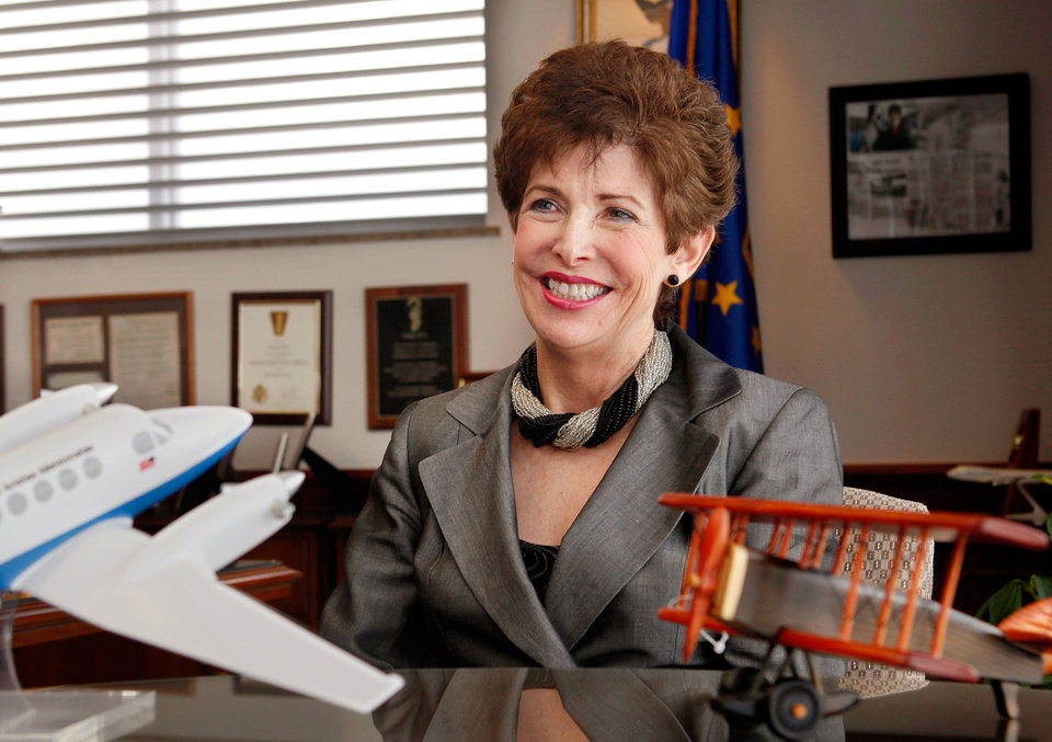 Lindy Ritz Director of the FAA�s Mike Monroney Aeronautical Center in Oklahoma City, is retiring Jan. 3