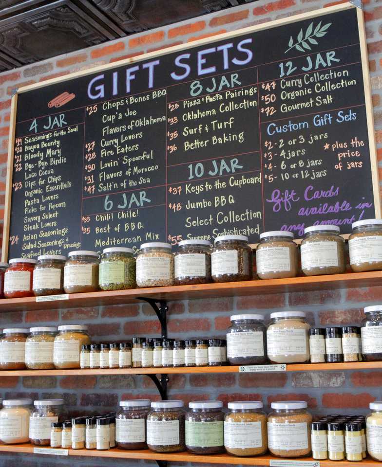 Savory Spice is Oklahoma City's first store to specialize strictly in spices, Friday, September 21, 2012.  Photo By David McDaniel, The Oklahoman <strong>David McDaniel - The Oklahoman</strong>