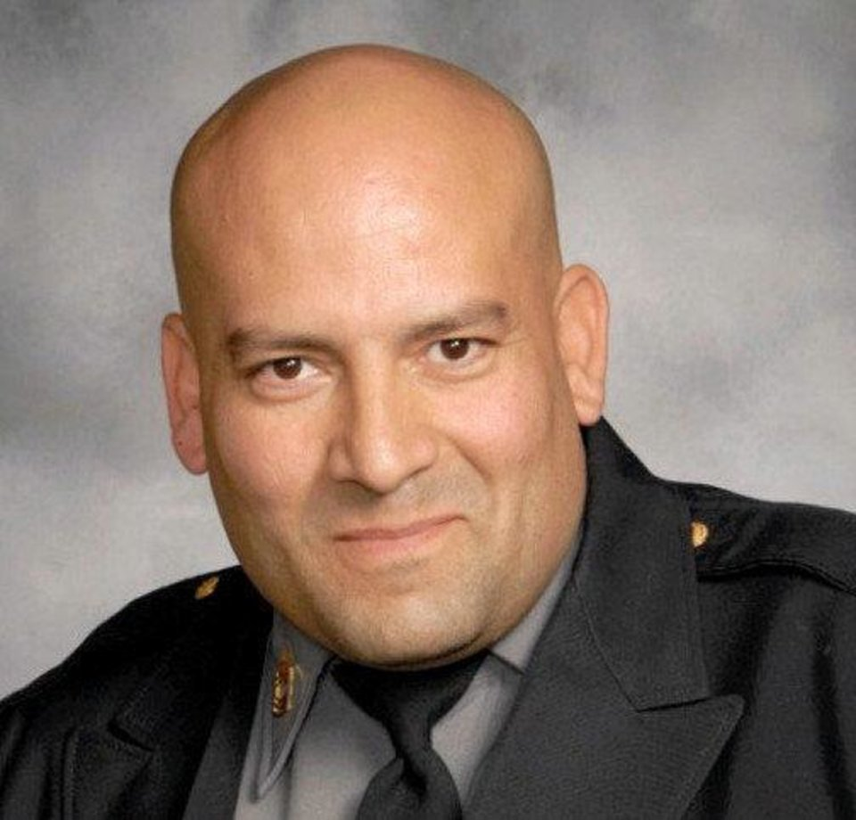 Police Sgt. Maurice Martinez <strong>Provided - Oklahoma City police</strong>