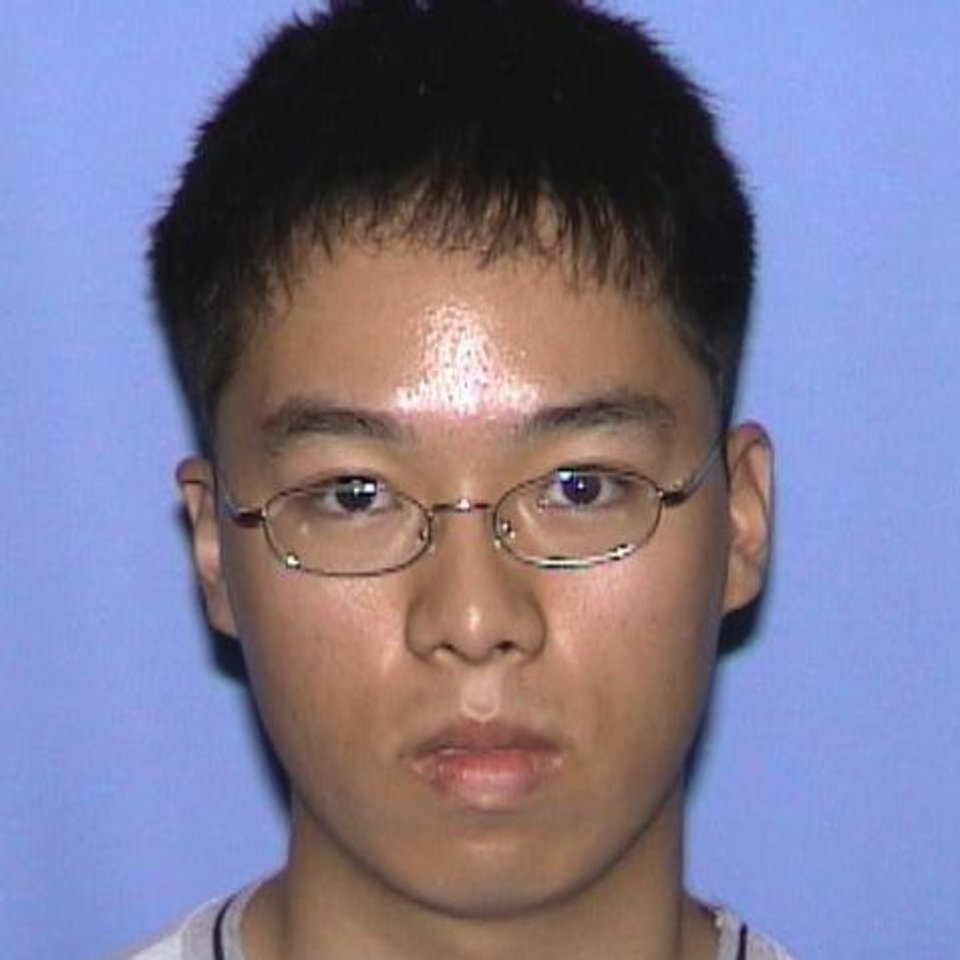 Photo -   FILE - This undated file photo provided by the Virginia State Police shows Seung-Hui Cho, the student gunman who went on a shooting rampage at Virginia Tech on April 16, 2007. Virginia's colleges and universities have quietly investigated hundreds of students, employees and others in recent years to prevent a repeat of the 2007 Virginia Tech massacre, when Cho left a series of increasingly disturbing warning signs before killing 32 people and himself. (AP Photo/Virginia State Police, File)