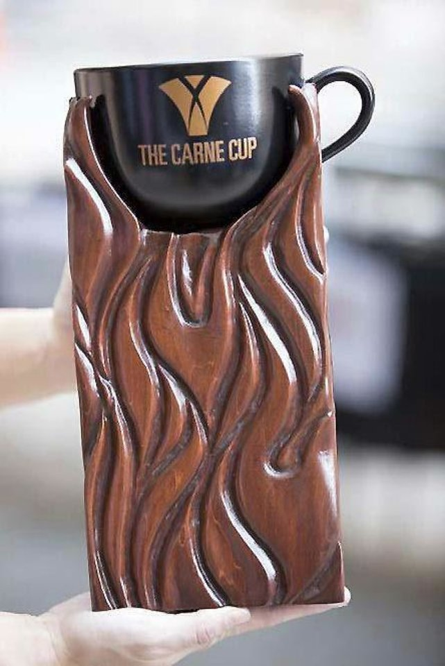 The Carne Cup.  Photo provided