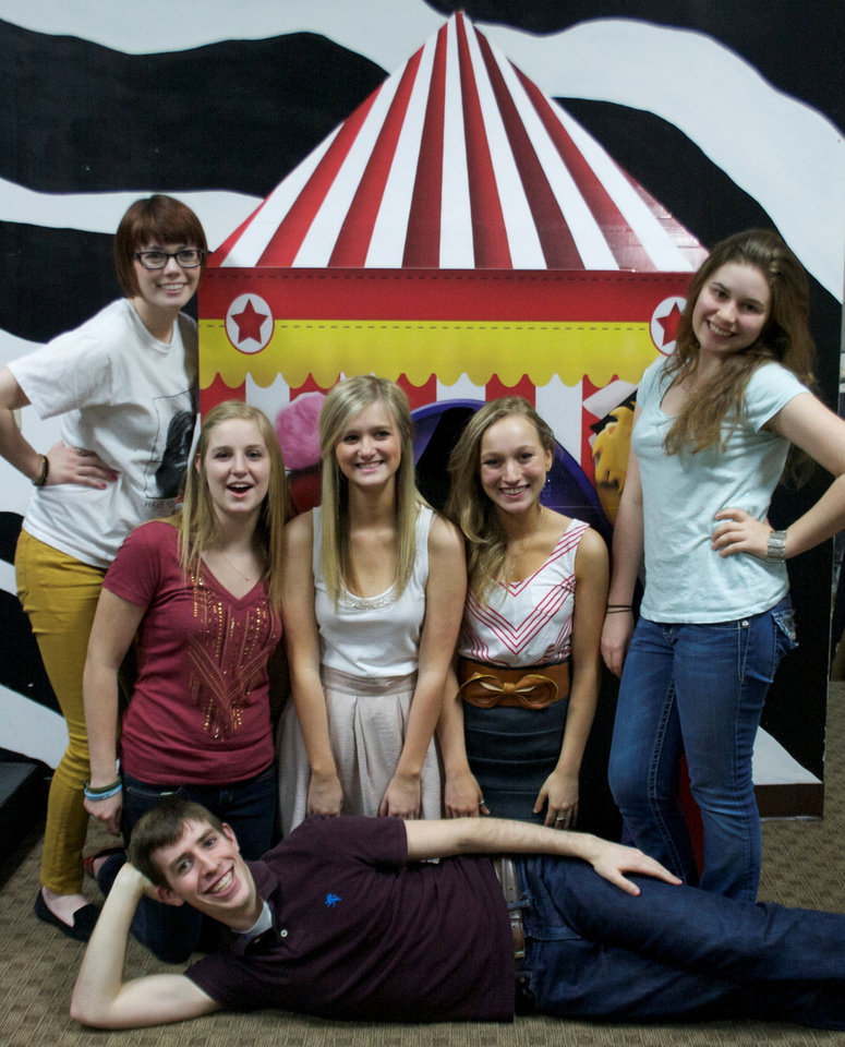 Photo - The Edmond teen troupe Kind of a Big Deal will perform Thursday at the fourth annual Improv Festival Oklahoma. Photo provided.