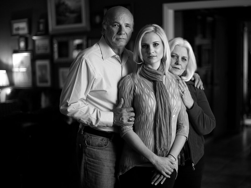 Photo - Shaelynn Listen and her parents Ken and Eileen Morefield, of Edmond, have learned a lot together about mental illness through Listen's experiences. They share their story in hopes that it will help others who face similar challenges.  BRYAN TERRY - THE OKLAHOMAN