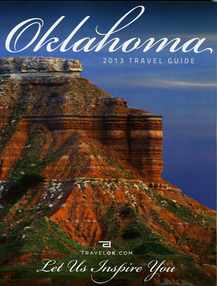 Above: You can order the 2013 Oklahoma Travel Guide at www.travelok.com.