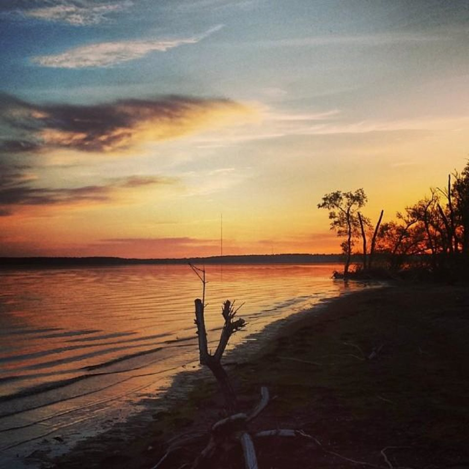 Oologah Lake - Photo by Instagrammer @rodmina