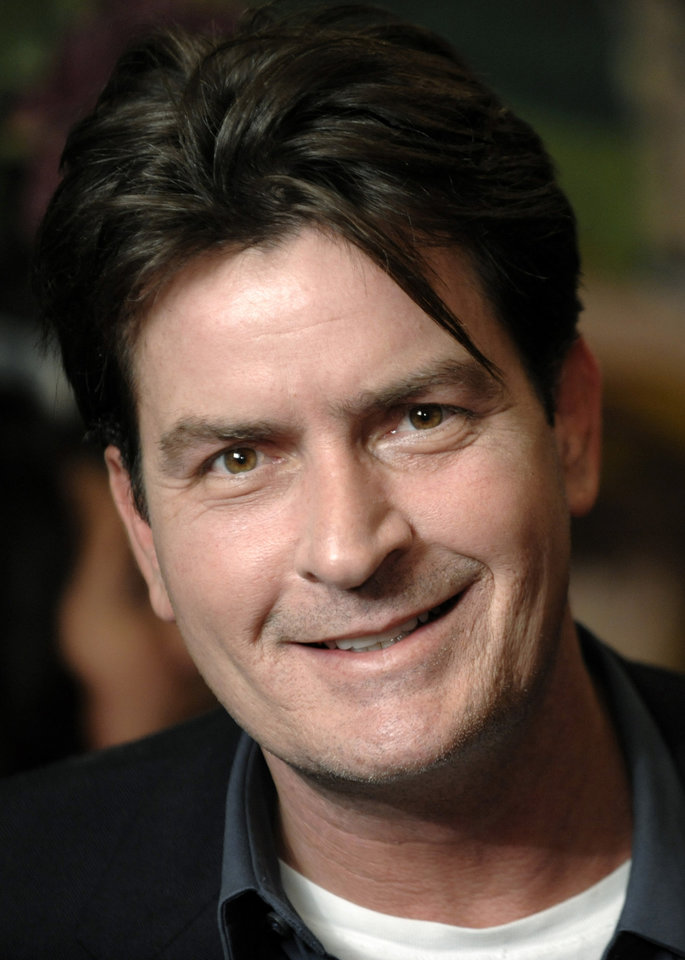 Photo -  FILE - This Jan. 28, 2009 file photo shows Charlie Sheen in Los Angeles. (AP Photo/Chris Pizzello, File) ORG XMIT: NYET337