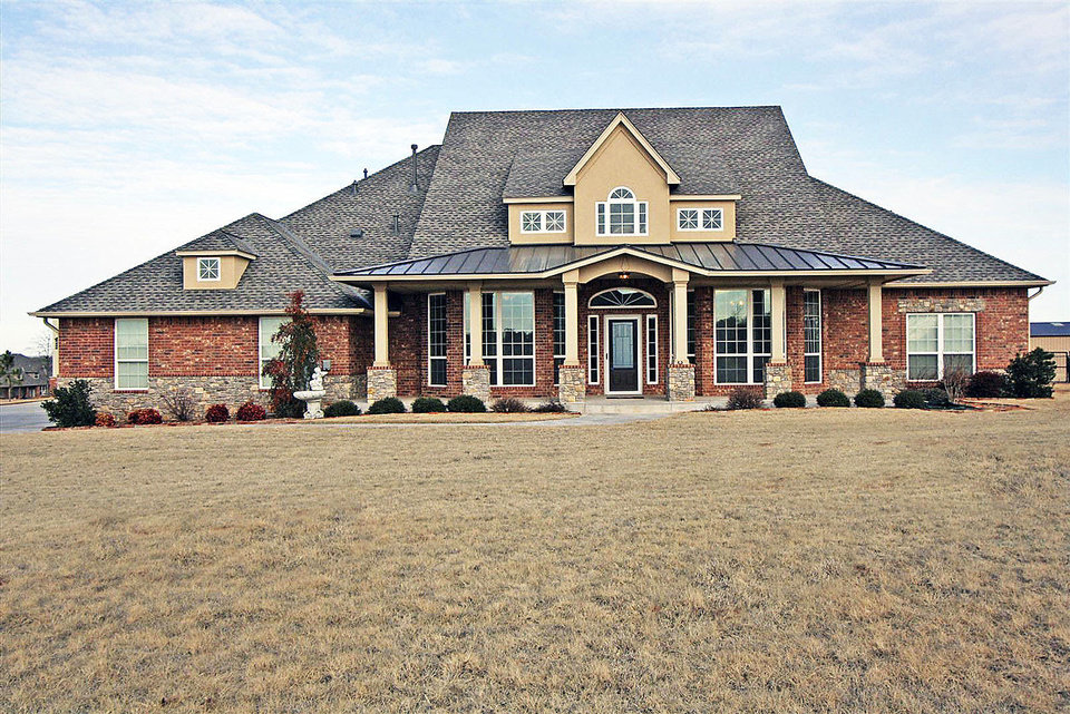 Coldwell Banker Select has this 3,548-square-foot home at 3615 Blue Stem Drive in Tuttle listed for sale for $480,000. The home, built in 2008, has four bedrooms, three baths and a three-car garage. Photo provided