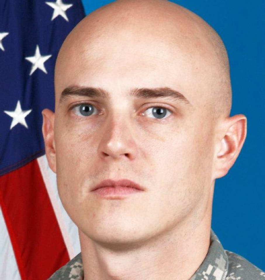 Photo - 1st Lt. Damon T. Leehan, of Moore, Okla., a platoon leader with Company A, 1st Battalion, 179th Infantry, was killed Sunday when the vehicle he was riding in struck an improvised explosive device in the Alingar District of Laghman Province.   - provided