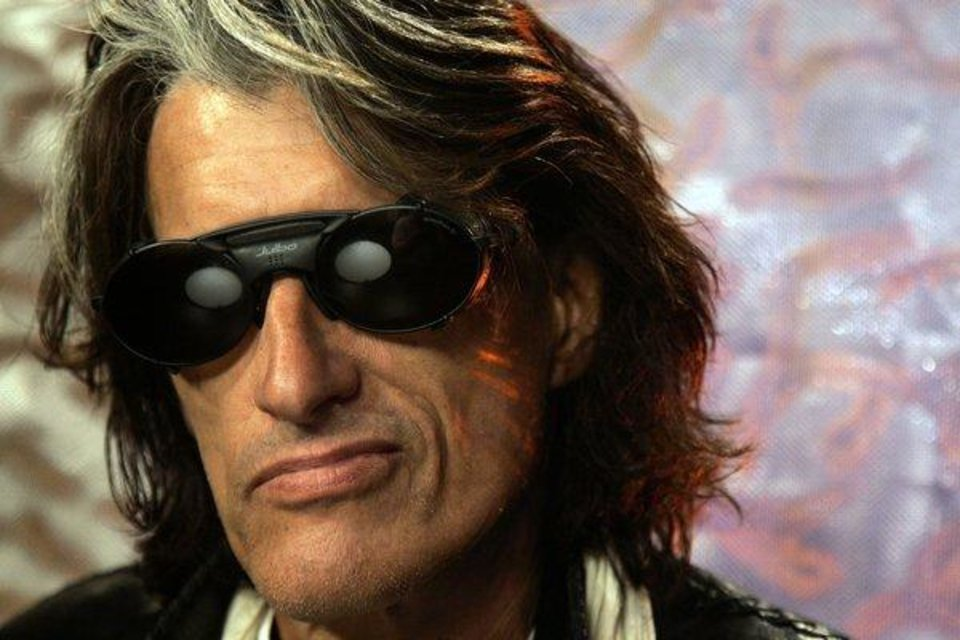 Aerosmith guitarist Joe Perry is seen in this AP photo.