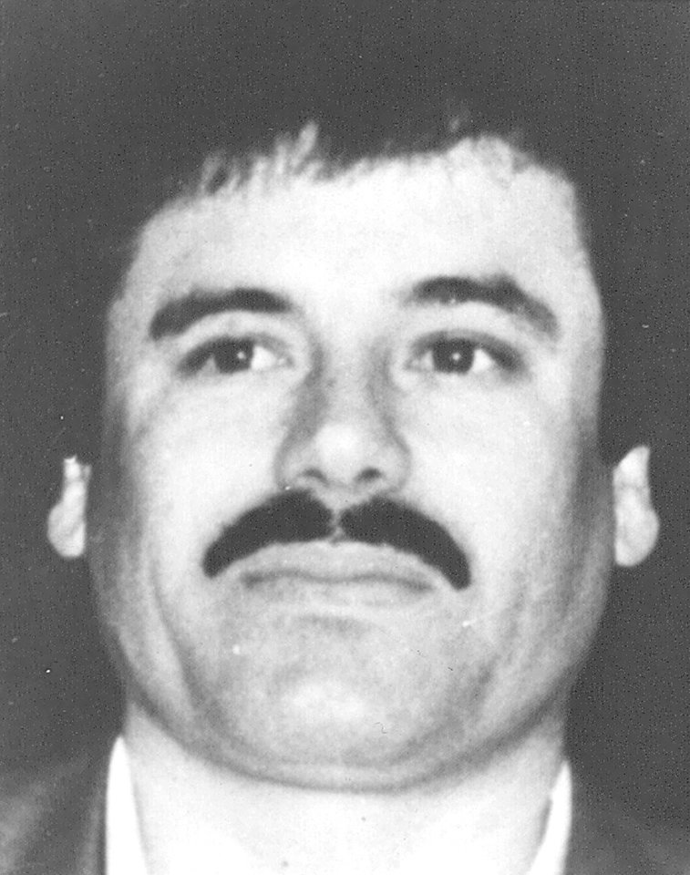 Photo - FILE - This undated file image released by Mexico's Attorney General's Office on May 31, 1993, shows drug lord Joaquin
