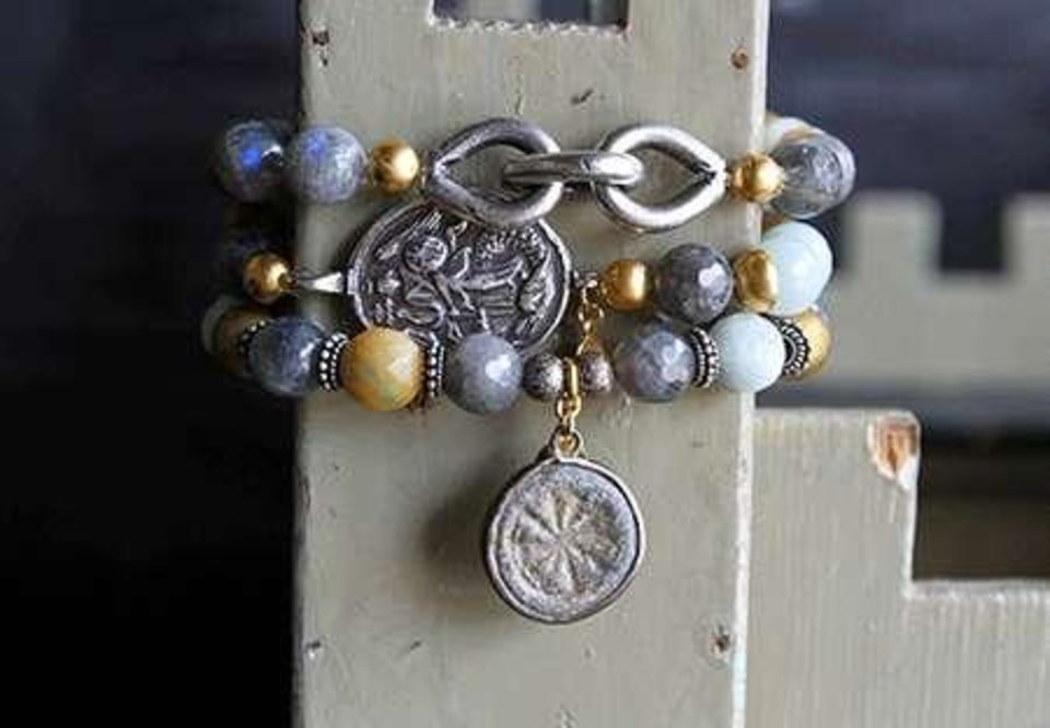 Photo - Catherine Page bracelets.