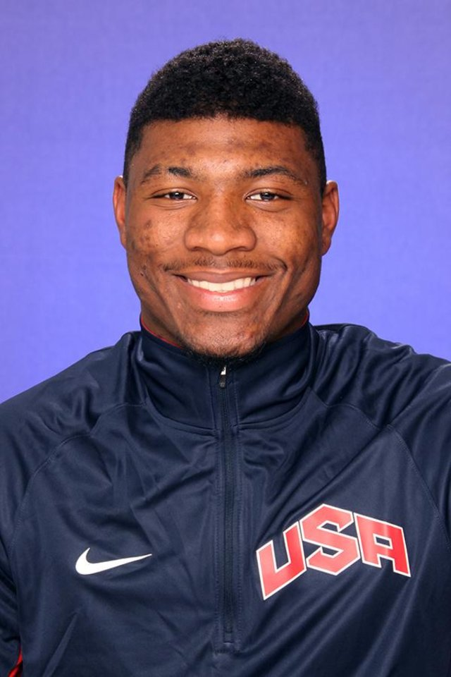 Oklahoma State University (OSU) sophomore player Marcus Smart is one of 12 players selected to represent the United States at the 2013 U19 World Basketball Championships in Prague, Czech Republic. ORG XMIT: 1306182217037643