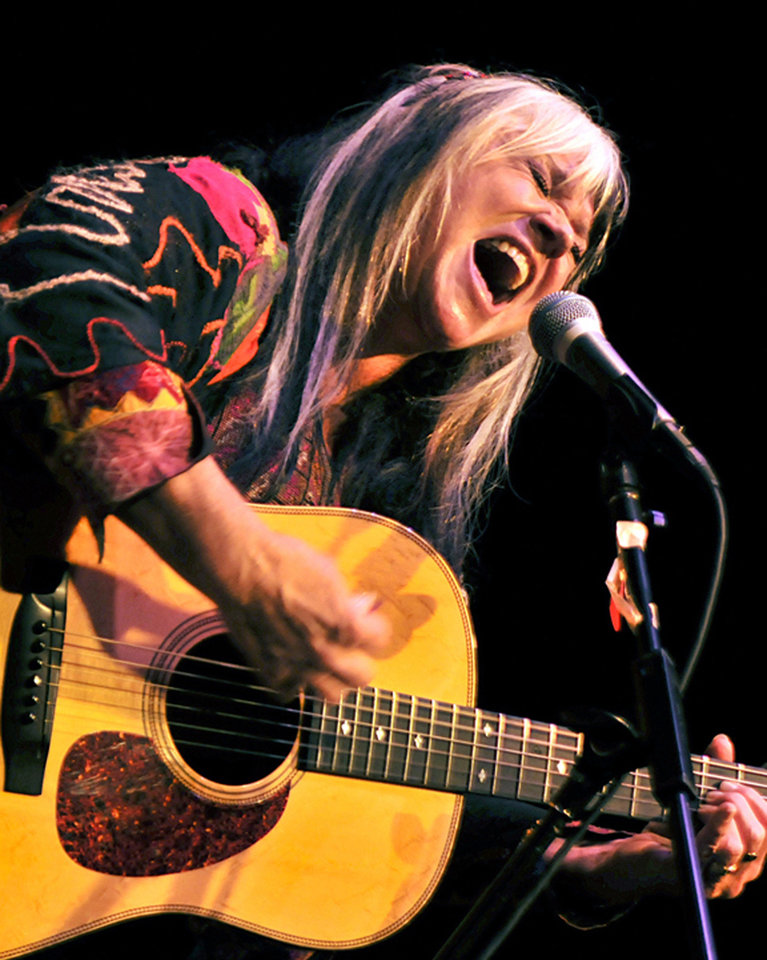 Photo - Singer-songwriter Melanie will play Saturday at the Woody Guthrie Folk Festival in Okemah. Photo provided.