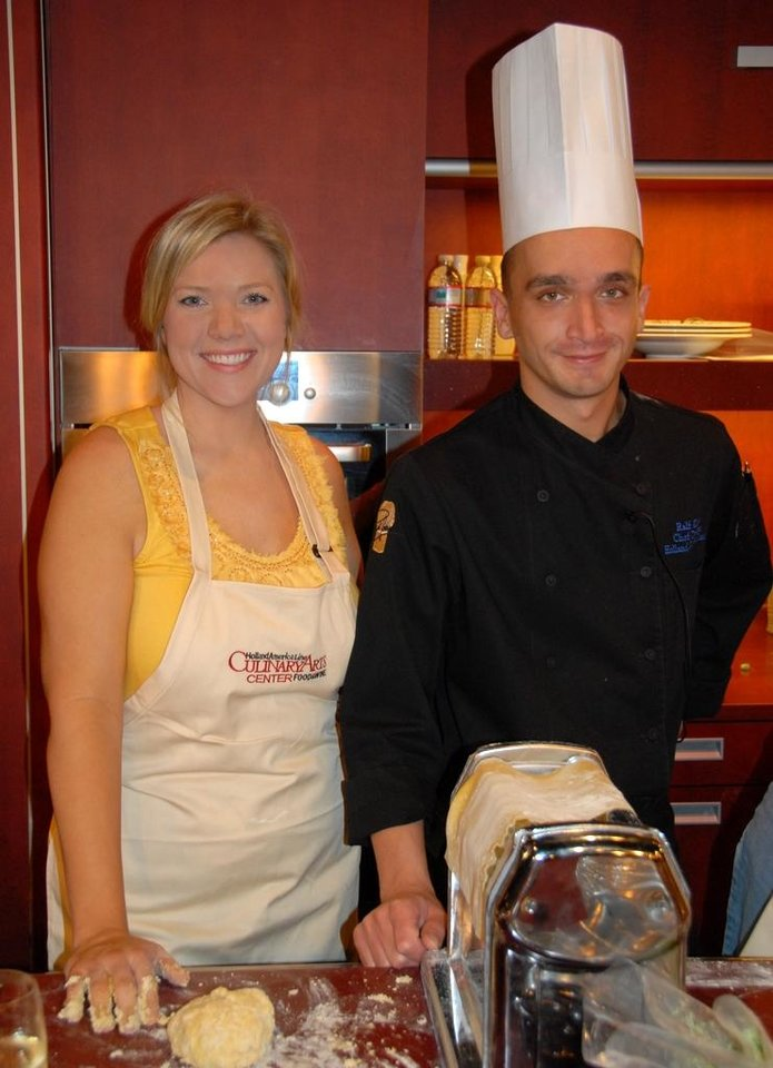 Photo - With Chef Ralf Kappel. (Photo from Happy Frazier)