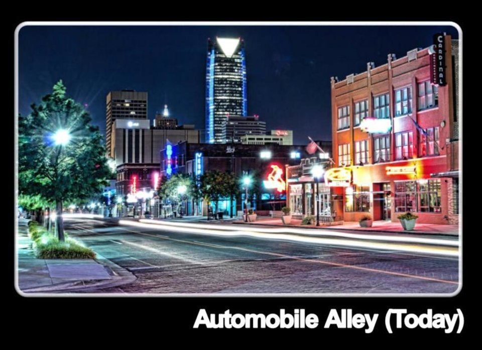 Broadway - Automobile Alley - with downtown investment.
