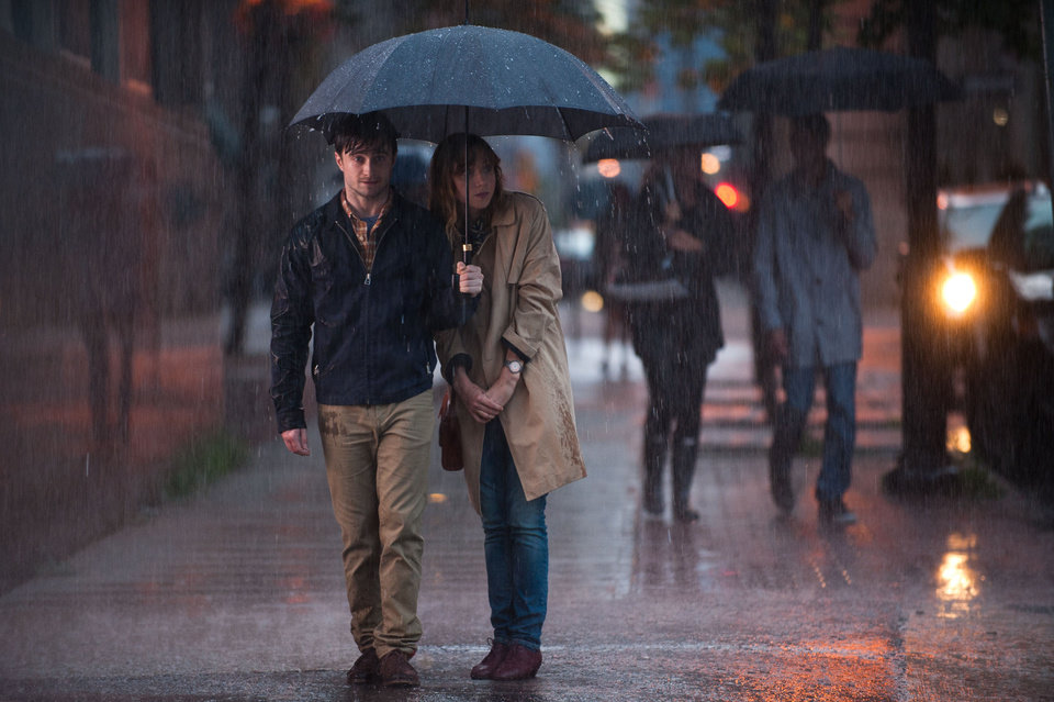 "Photo -  Daniel Radcliffe and Zoe Kazan in a scene from ""What If."" Photo provided   Caitlin Cronenberg -"