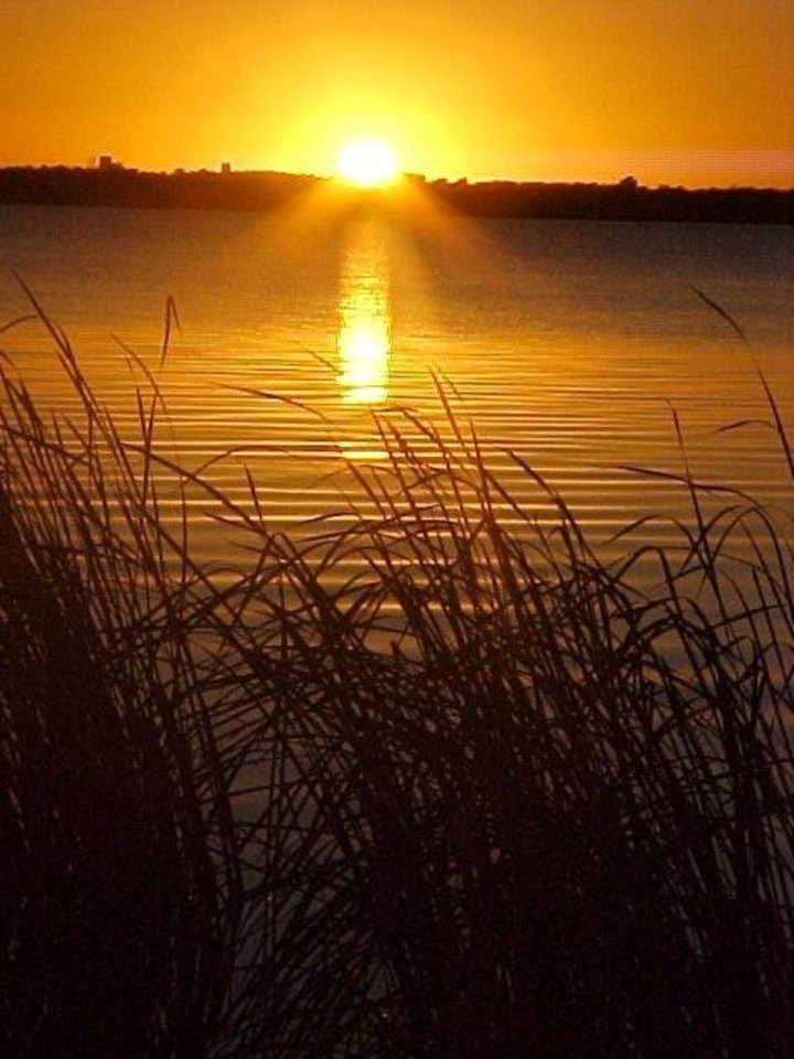 Sunset at Lake Overholser, Bethany Oklahoma.<br/><b>Community Photo By:</b> SHARI JOHANNING<br/><b>Submitted By:</b> SHARI, BETHANY