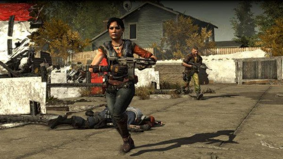 "Resistance fighters in the video game ""Homefront."" Photo provided <strong></strong>"