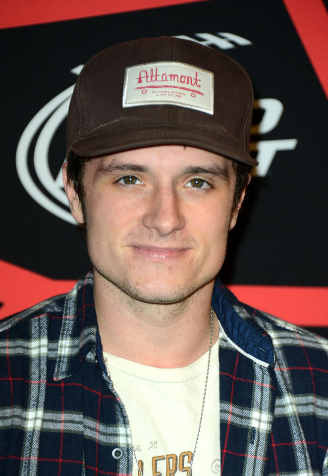Photo - Actor Josh Hutcherson arrives at ESPN The Magazine's