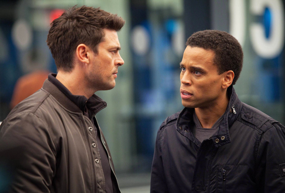 Photo - From left, Karl Urban and Michael Ealy star in