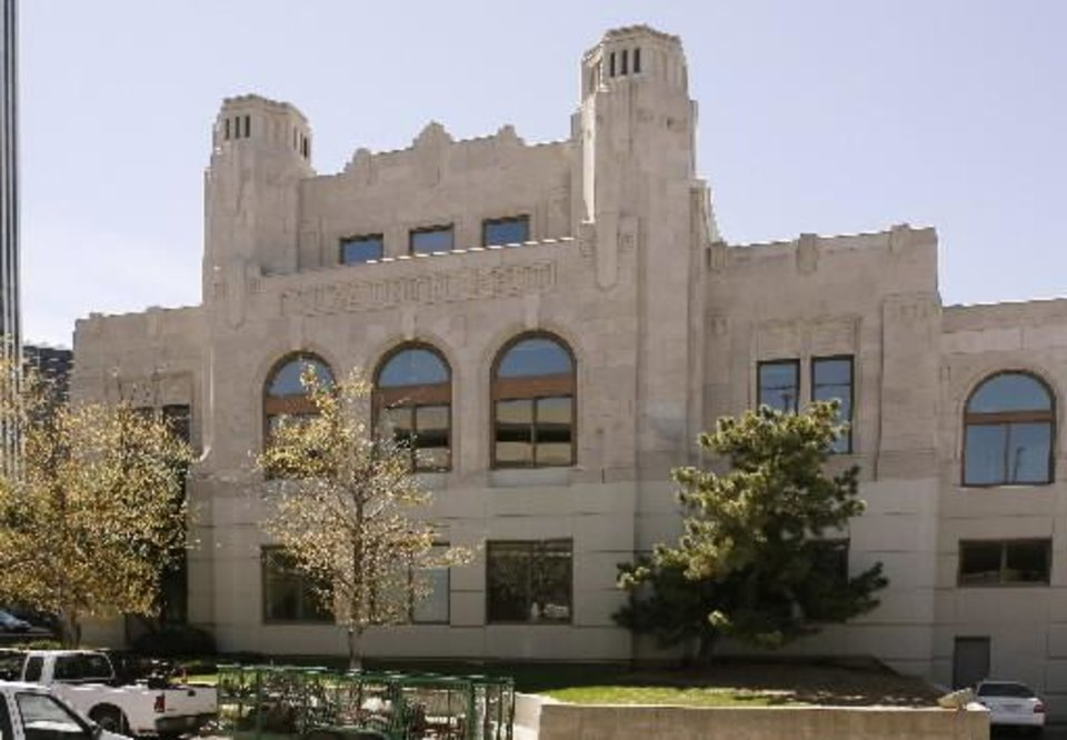 The Union Depot in which the Oklahoma Jazz Hall of Fame is located is seen in this file photo.