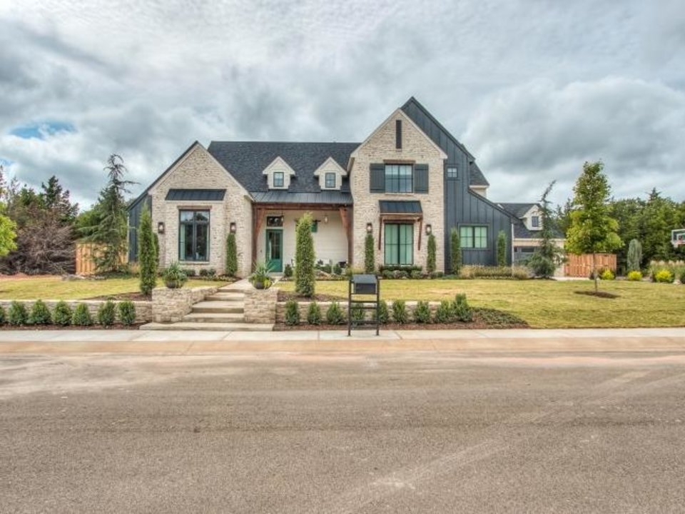 Photo -  Ripple Creek Homes' entry at 5101 Water Oak Way, in Edmond's Black Oak at Iron Horse Ranch addition, won Best Overall in the $1.5 million-and-above category of the Parade of Homes Fall Classic, which continues Saturday and Sunday. [CENTRAL OKLAHOMA HOME BUILDERS ASSOCIATION]