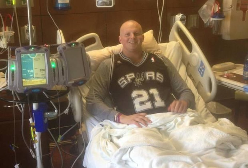 Photo -  Oklahoman Conner Davey is cancer free and Thunder-Spurs game bound.  Read about how  the Thunder made a Spurs fan's dream come true.