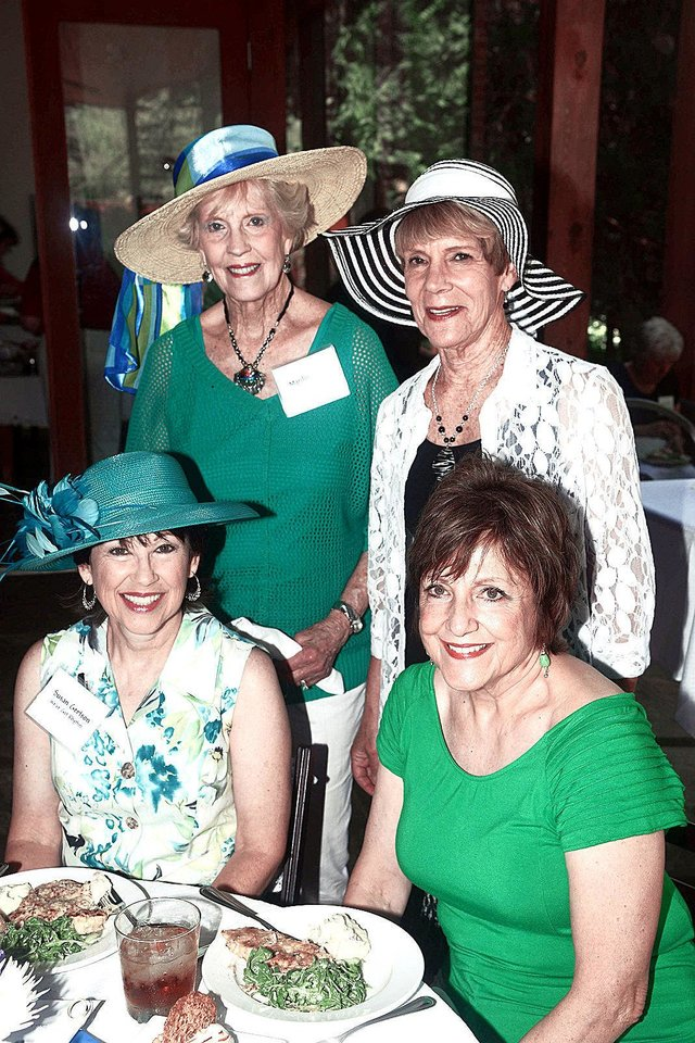 Photo - Susan Gertson,  Marilyn Long, Jeanne Jackson, June McCoy. Photo by David Faytinger, for The Oklahoman