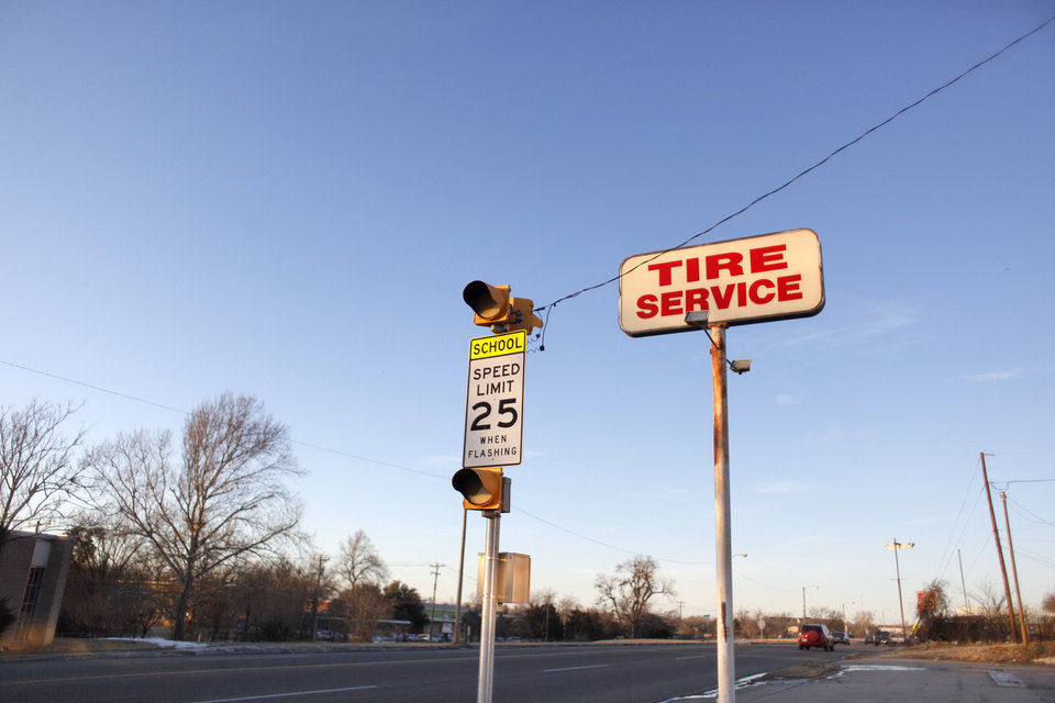 On Martin Luther King Avenue in Oklahoma City, Okla., Monday, Jan. 11, 2010. Photo by Sarah Phipps, The Oklahoman