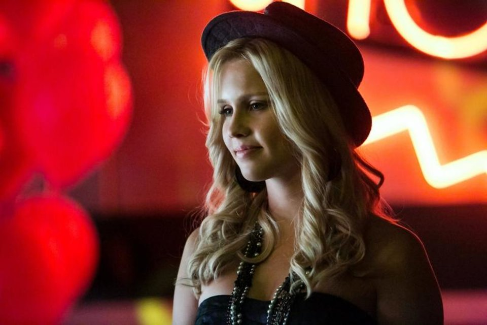"The Vampire Diaries -- ""A View to a Kill"" -- Pictured: Claire Holt as Rebekah — Image Number: VD412c_0119.jpg -- Photo: Tina Rowden/The CW -- ©2013 The CW Network, LLC. All rights reserved."