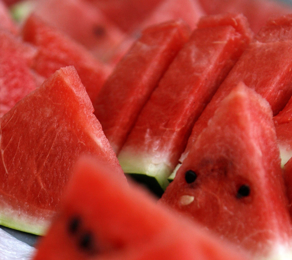 Photo -  Watermelon, a sweet, summertime treat. [[THE OKLAHOMAN ARCHIVES]