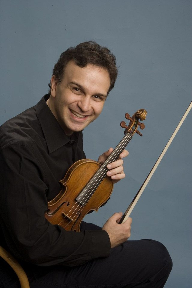 Photo - Gil Shaham. Photo provided.  Photo provided