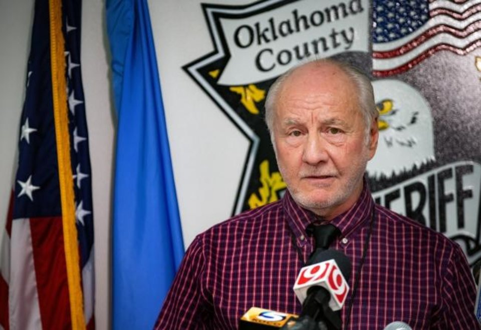 Photo -  Oklahoma County Sheriff's Cpt. Bob Green speaks during a press conference to announce the identity of the 1980 cold case homicide victim Tamara Lee Tigard at the Oklahoma County Sheriff's office in Oklahoma City, Okla. on Thursday, Jan. 30, 2020. [Chris Landsberger/The Oklahoman]