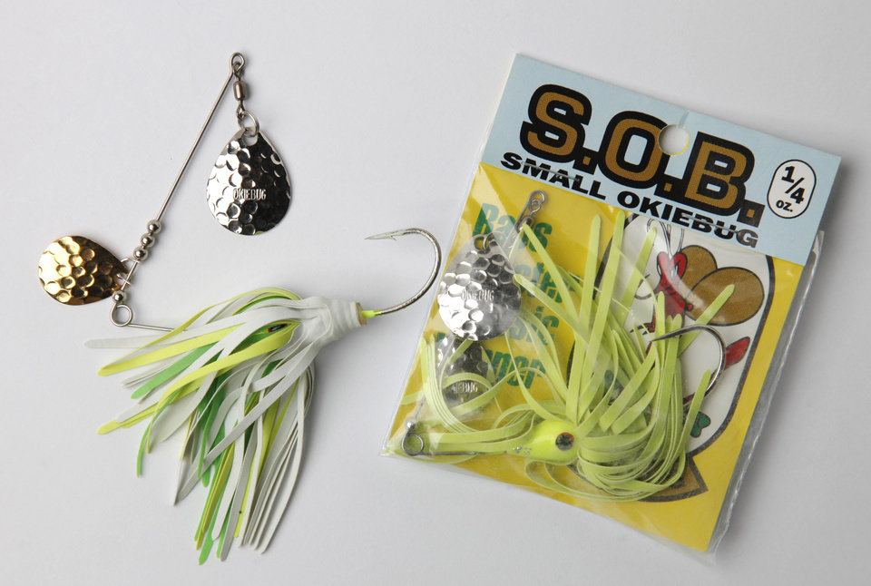 Photo - S.O.B.- Small Okie Bug. Most popular fishing lures ever made in Oklahoma, March 11, 2010. Photo by Doug Hoke, The Oklahoman  ORG XMIT: KOD