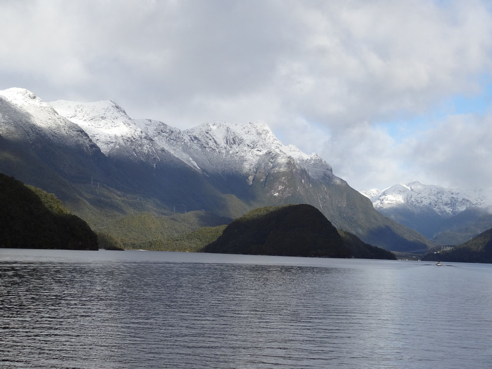 Photo - A view of Doubtful Sound in the far southwest corner of the South Island of New Zealand.  PHOTO BY DAMON FONTENOT, THE OKLAHOMAN