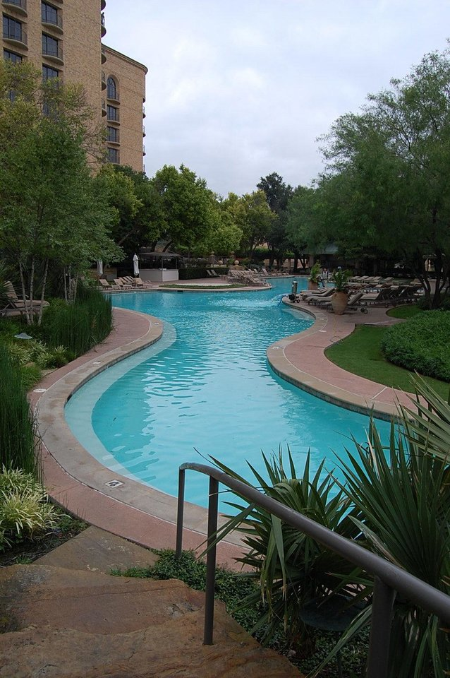 Photo - The Resort Pool at Four Seasons Resort and Club Dallas at Las Colinas. Photo by Annette Price, for The Oklahoman.