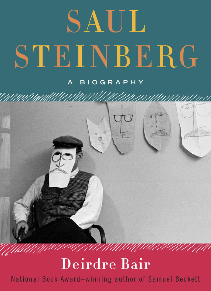 "This book cover image released by Doubleday/Nan A. Talese shows ""Saul Steinberg: A Biography,"" by Deirdre Bair. (AP Photo/Doubleday/Nan A. Talese)"