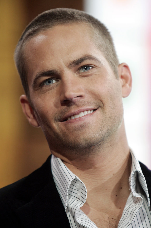 FILE In this Feb. 14, 2006 file photo, actor Paul Walker, appears on stage during a taping for MTV\'s \'Total Request Live\' show at the MTV Times Square Studios in New York. Walker is in New Orleans for the making of the suspense thriller,