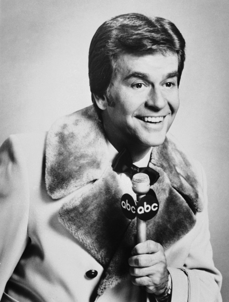 "FILE - In this Dec. 1980 file photo released by ABC, Dick Clark is shown. Clark, the television host who helped bring rock `n' roll into the mainstream on ""American Bandstand,"" has died. He was 82. Spokesman Paul Shefrin says Clark died but did not provide further details. Clark had continued performing even after he suffered a stroke in 2004 that affected his ability to speak and walk. (AP Photo/File)"