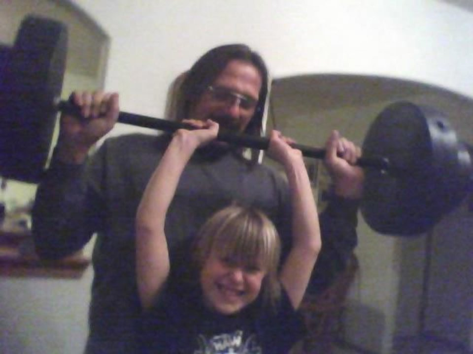 Kash is really working out .. get ready<br/><b>Community Photo By:</b> mom TAMA<br/><b>Submitted By:</b> Tama, Midwest