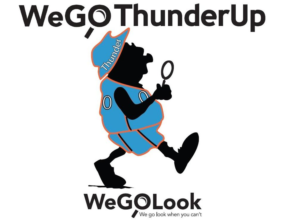 We Thundered Up Our Mascot!
