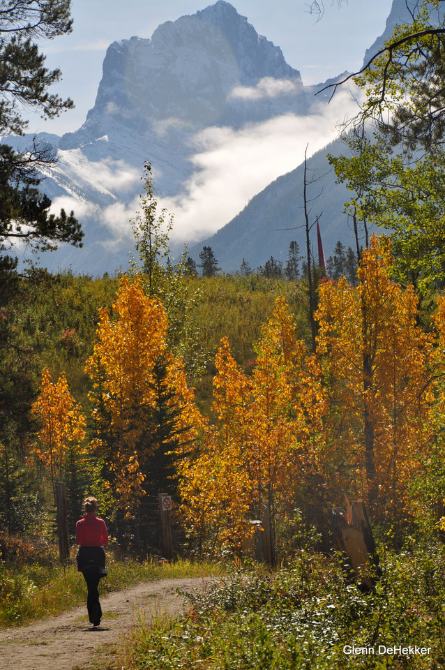 Photo - Autumn is a great time to visit K Country or Banff National Park, Alberta