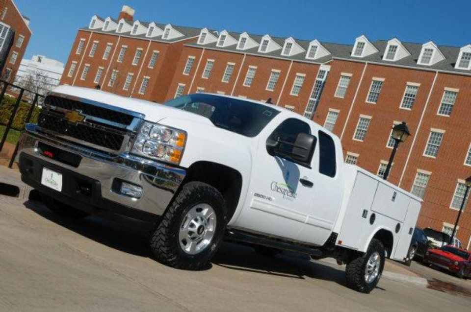 Chesapeake Energy Corp. has completed all 800 vehicles in its Oklahoma fleet to run on compressed natural gas. The company intends to have its entire 4,200-vehicle fleet running on CNG by 2014. <strong> - provided</strong>