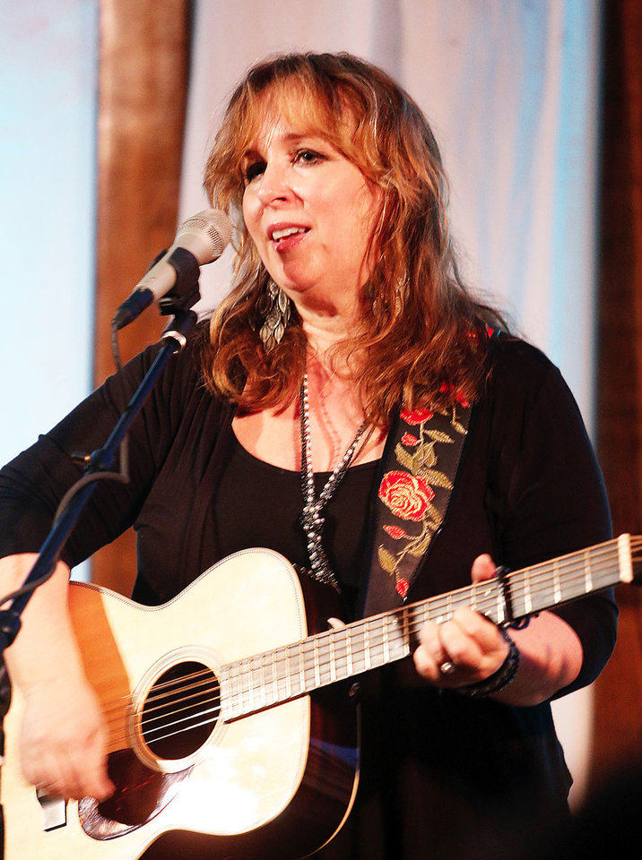 Photo - Gretchen Peters performs Sunday in Norman.