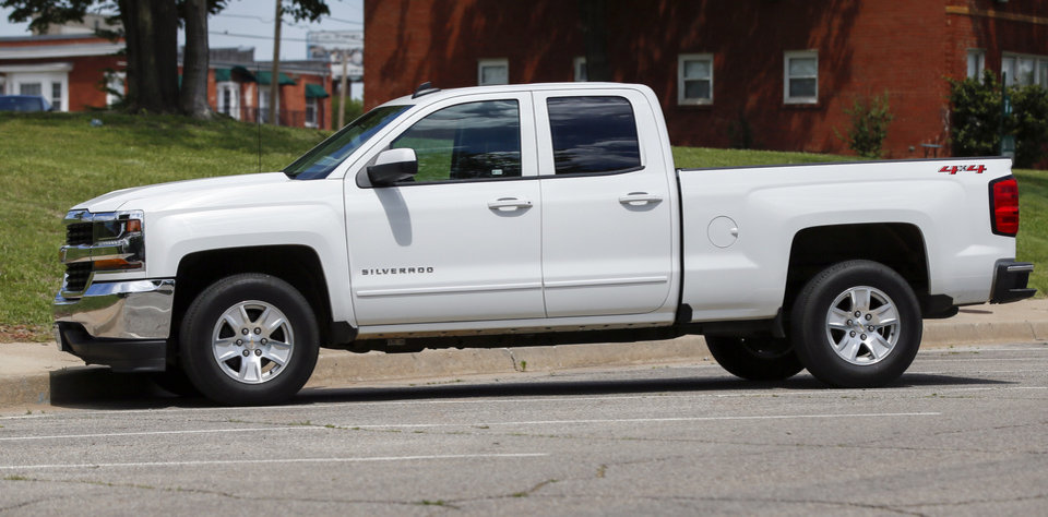 Photo -  A Chevrolet Silverado truck in Oklahoma City, Thursday, May 10, 2018. Photo by Nate Billings, The Oklahoman