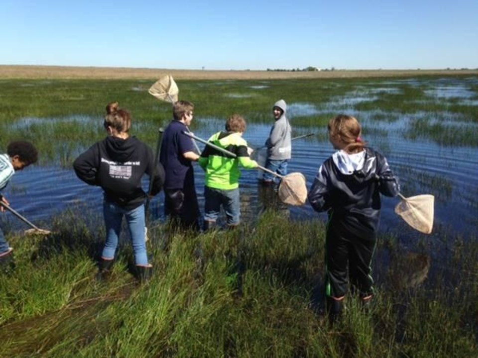 Photo -  The Hackberry Flat Wildlife Management Area has become a popular outdoor classroom for students in southwest Oklahoma. [PHOTO PROVIDED]